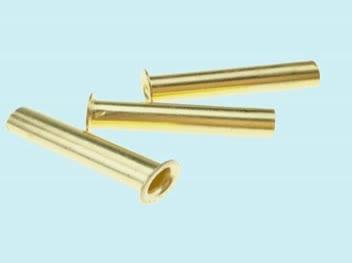 Stock de masse rivet tubulaire Creux en laiton rivet 4*20