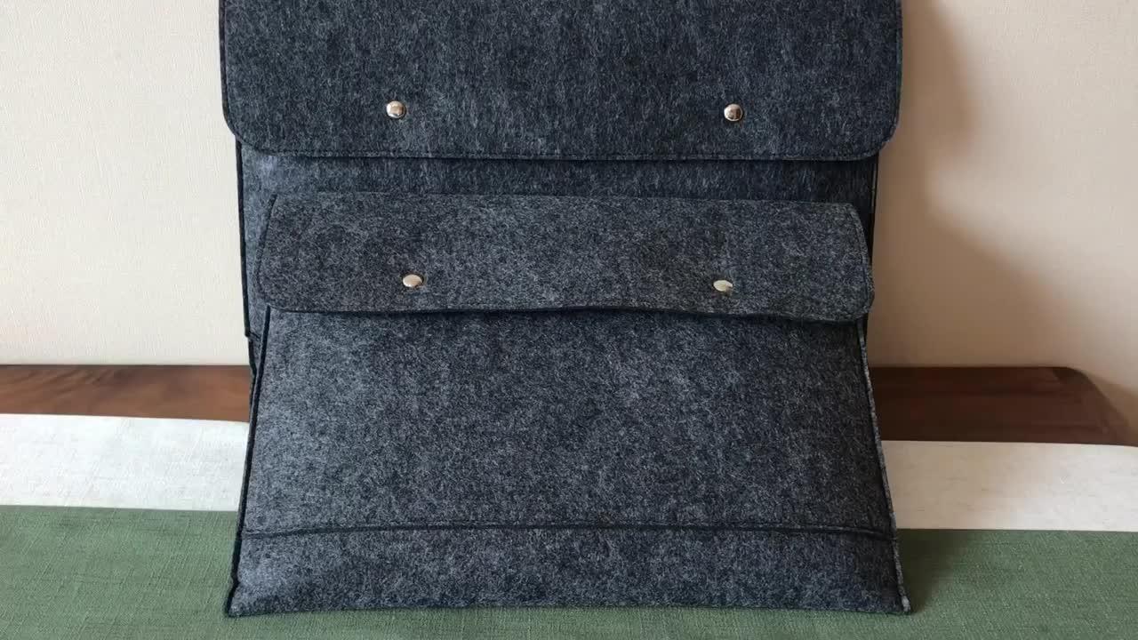 Senhoras modernas de viagem a5 arquivo de documento portátil do saco de feltro de poliéster de negócios maleta bolsa para laptop maleta