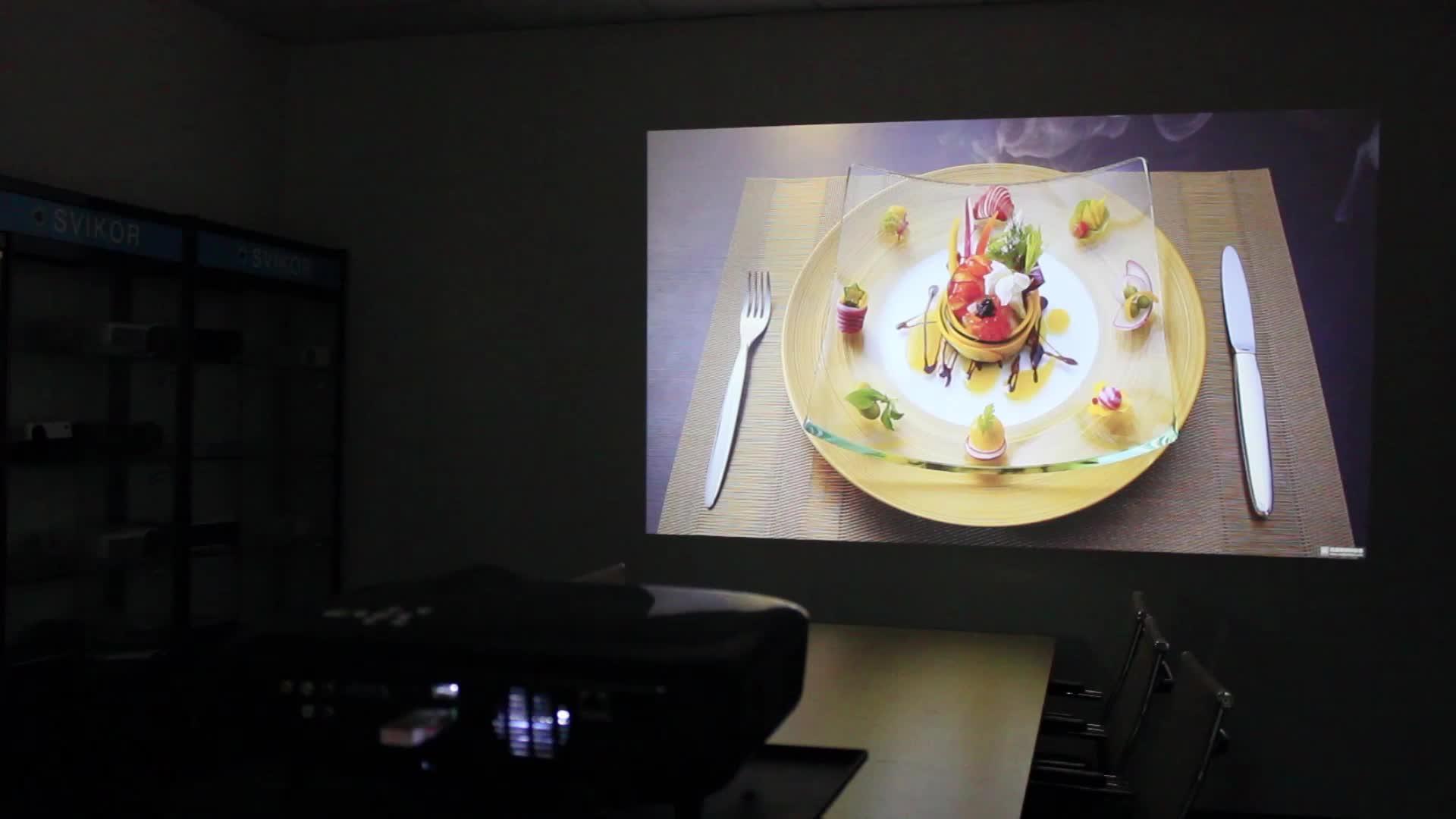 Q6 1080 p thông minh chùm máy chiếu mini với 1 năm bảo hành