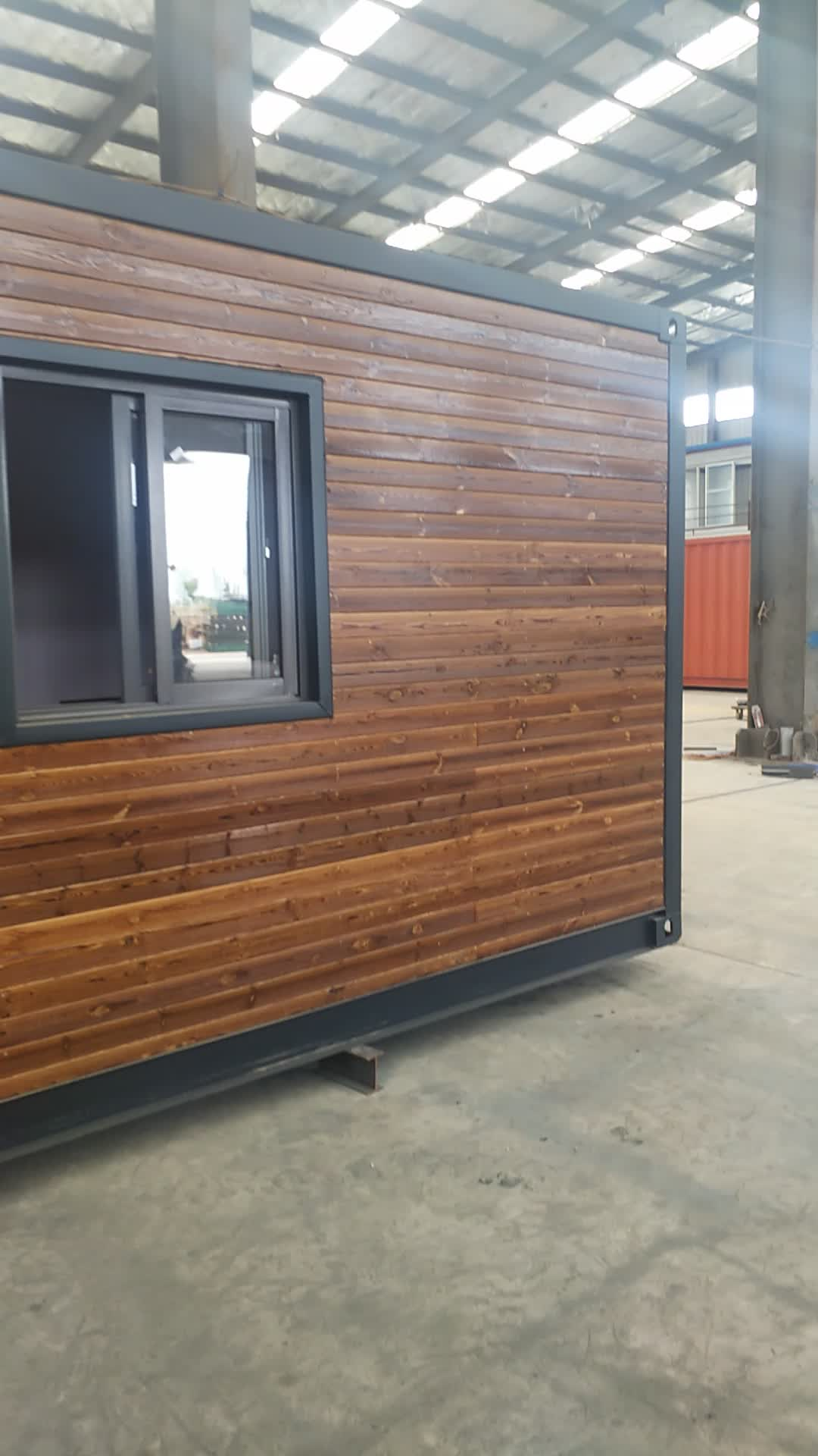 Simple prefab log cabins wooden small house romania portable cabins prefabricated log container homes price