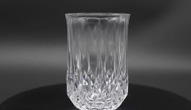 Heat Resistant And Unbreakable Hard Reusable Clear PC Plastic Glass Look Whisky Acrylic Cups