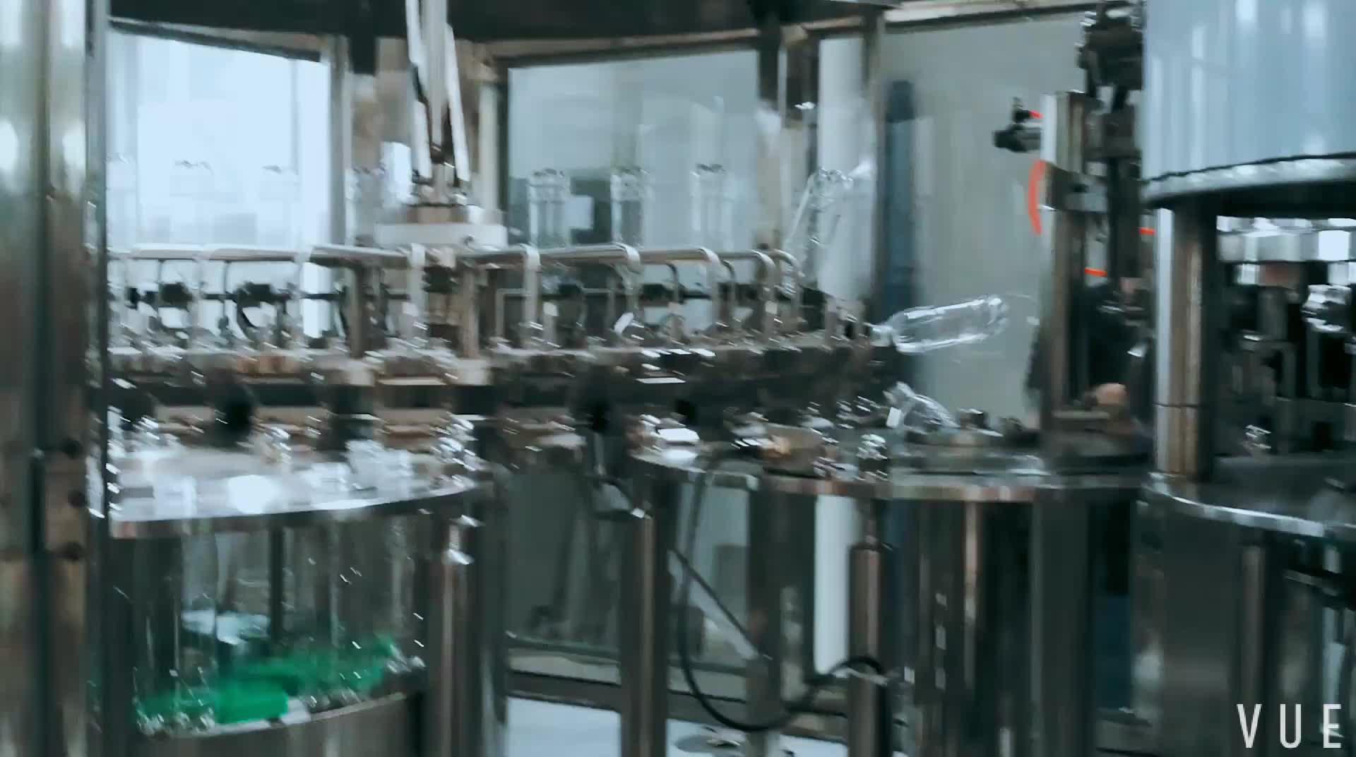 Bebidas carbonatadas máquina de enchimento e tampar