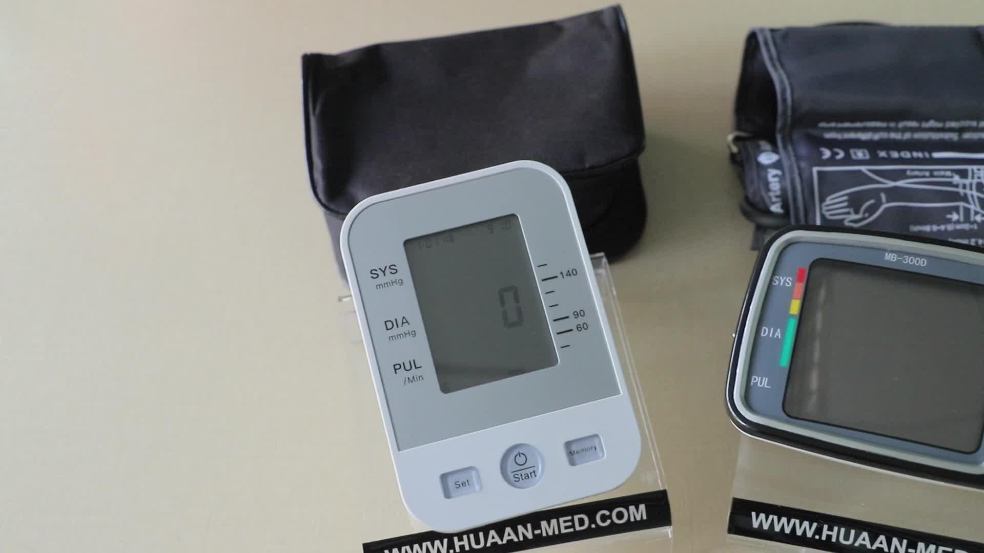 Nouveau Modèle Machine BP moniteur de Pression Artérielle Numérique FDA Usage Domestique pour Mesure de la Pression Artérielle