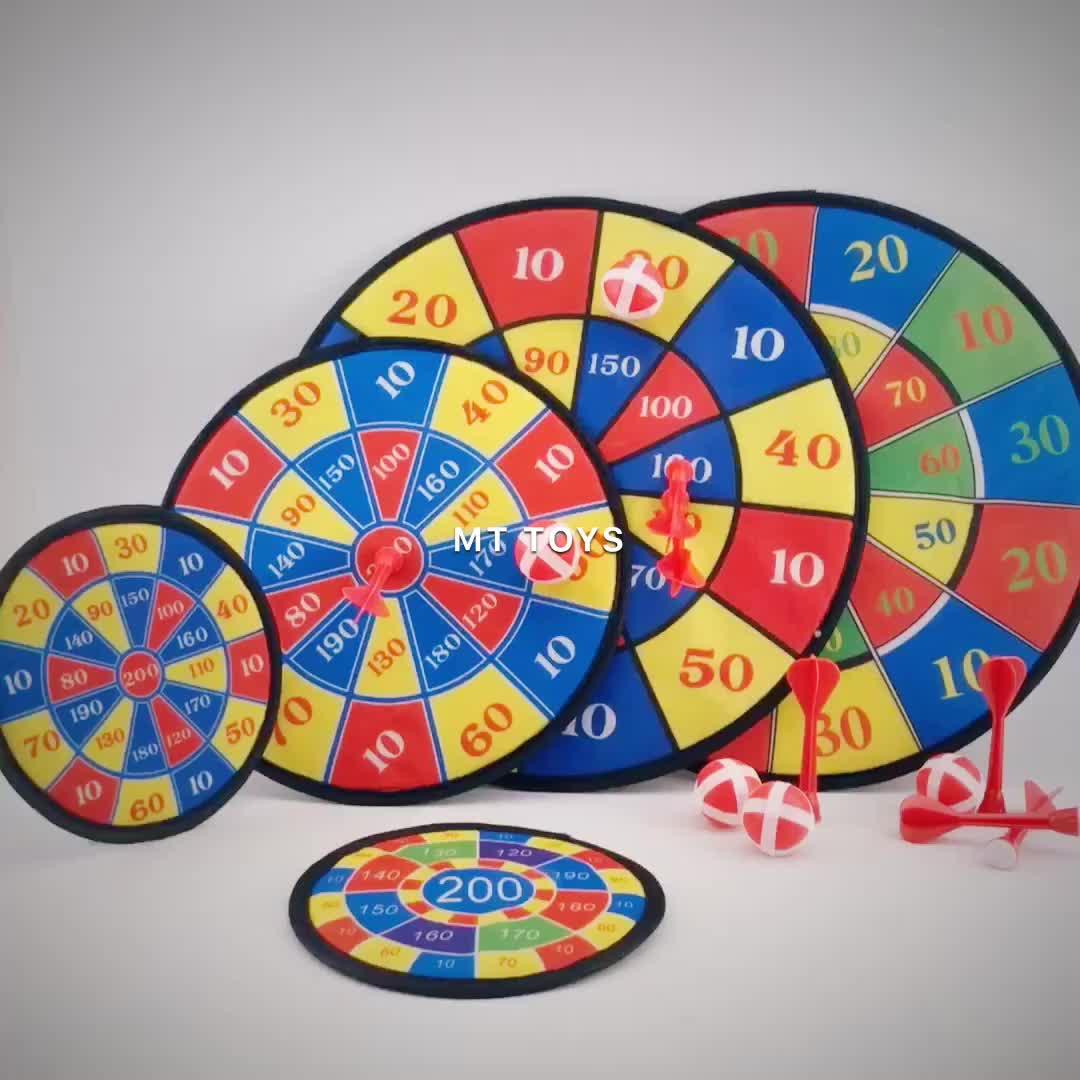 Material de la tela de tiro de entretenimiento deportivo de interior dartboard juego darts target toy