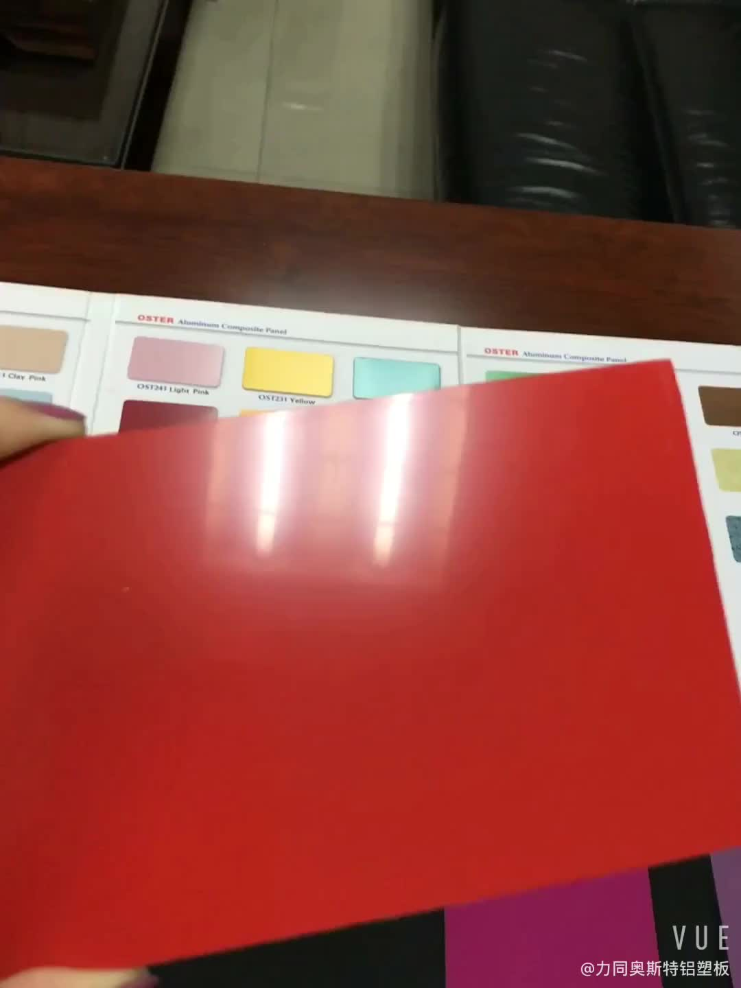 Pearl / Glossy ACP aluminium composite panel 3mm 4mm ACP cladding sheet price for interior exterior use