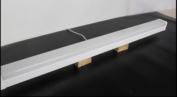 Harga Pabrik Berkualitas Tinggi Sensor Gerak Linkable Supermarket Dapat Disesuaikan LED Linear Lampu 0.6 M 1.2 M 1.5 M Tangga Ceiling ringan