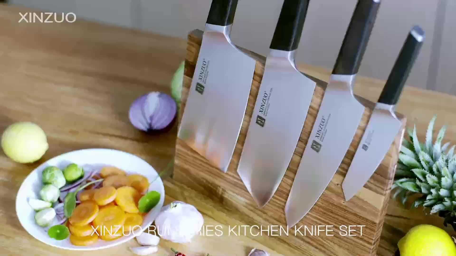 הגעה חדשה 8 אינץ גרמנית סכין 1.4116 פלדת שף סכין