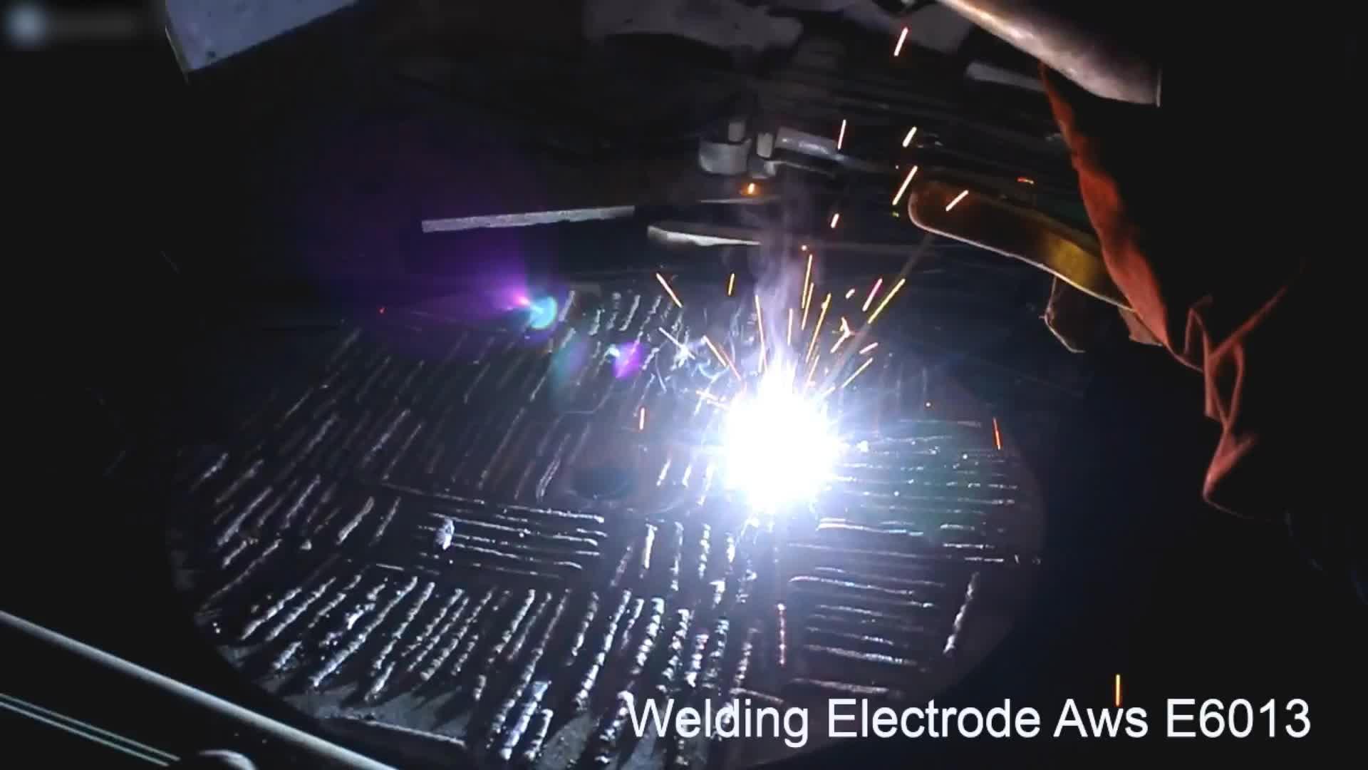 2.5 3.2 4.0mm welding electrode AWS E6013 300-450mm length rod