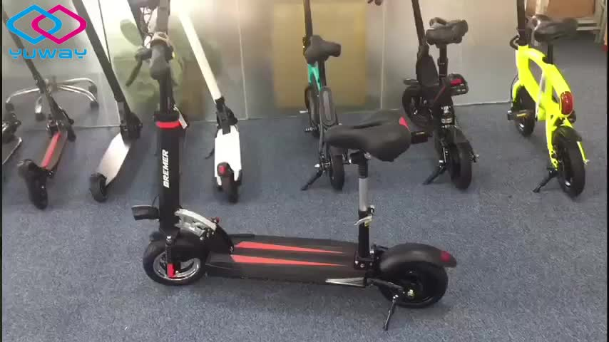 2019 high power 10 inch foldable  55km/h 500w/800 electric scooter with led lights
