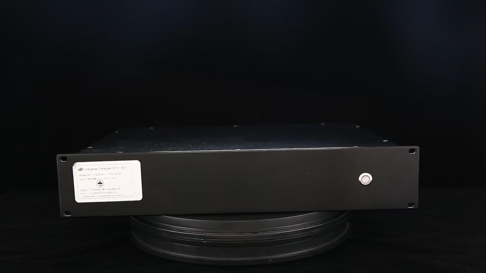 2U iptv サーバビデオ編集 skylake インテル 6th コア i3 6100u 産業 x86 組み込み pc linux ミニサーバ