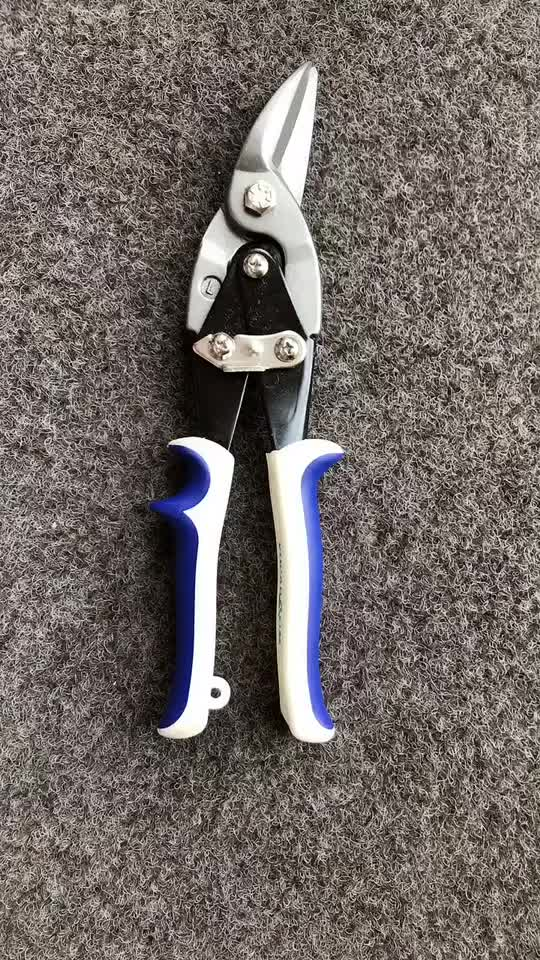 Aviation Snip Free Sample 10'' Left/Right/Straight Cut Aviation Tin Snips Manufacturer