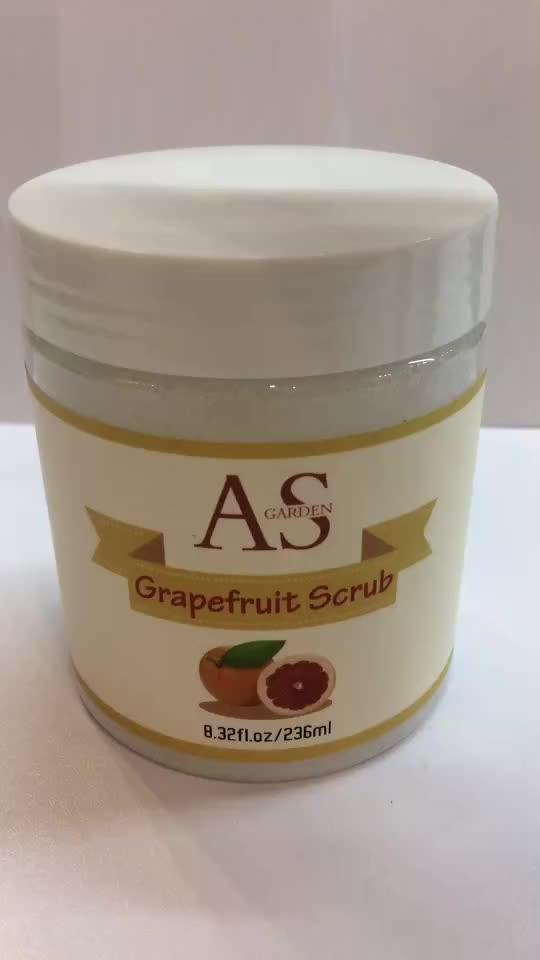 Wholesale Private Label OEM/ODM Wholesale Natural Skin Care coconut milk Scrub Anti Aging Skin Brightening Face Body Scrub