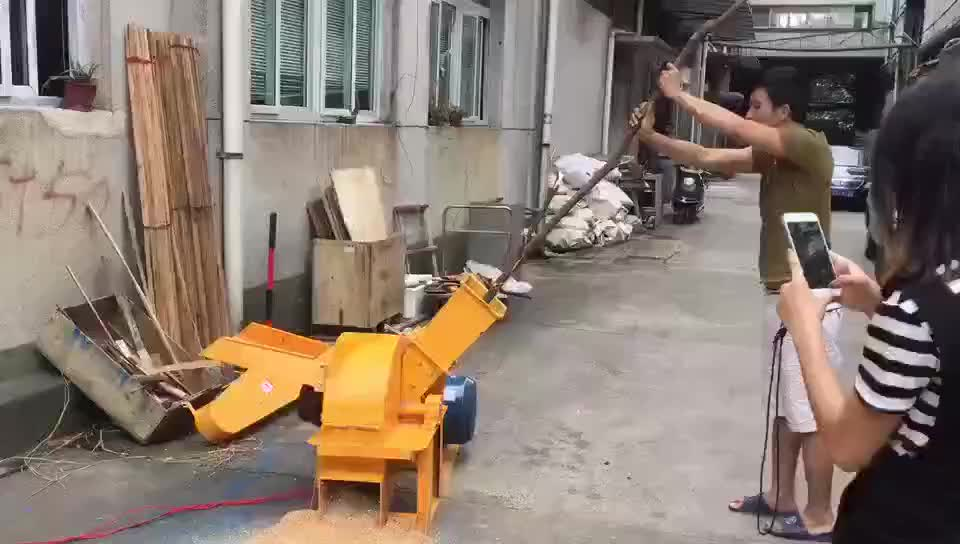 Industrie hout crusher