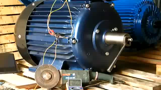 50KW Three phase permanent magnet alternator low rpm, three phase alternator