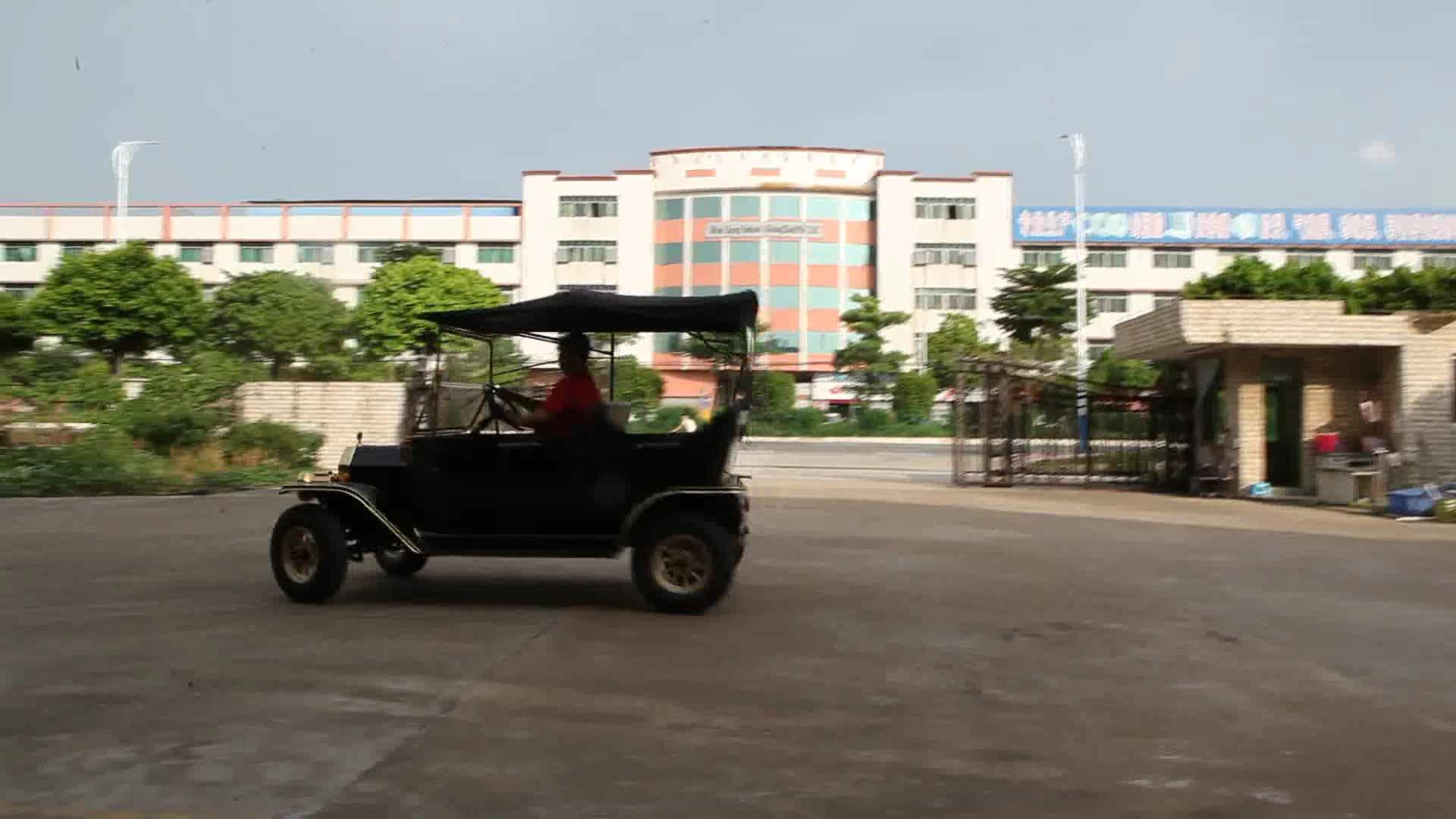 จีนท่องเที่ยวไฟฟ้ารถกอล์ฟ4ที่นั่งไฟฟ้ารถขาย