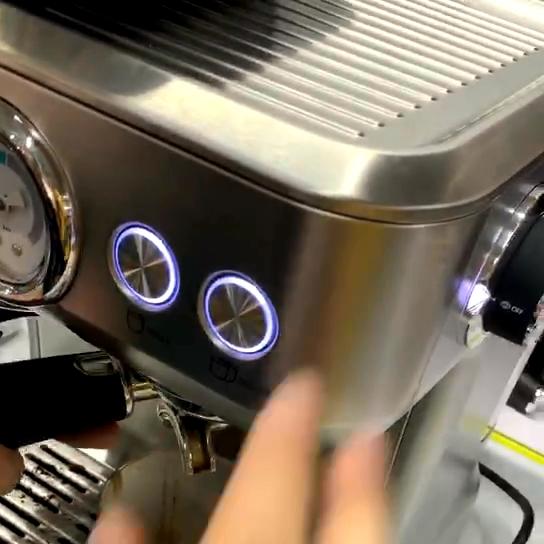 Mesin Pembuat Kopi Espresso Otomatis, CM5007 1500W 2.7L dengan Pompa ULKA