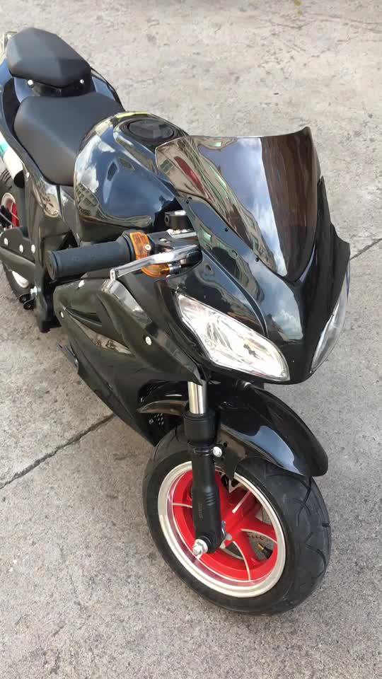 2018 nuevo modelo de alta calidad Mini Moto bicicleta de bolsillo 50cc