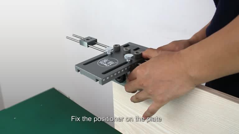 Hout dowelling jig Houtbewerking Boren Gids Kit Locator voor Meubels Kast Aansluiten Deuvel Jigs tool set