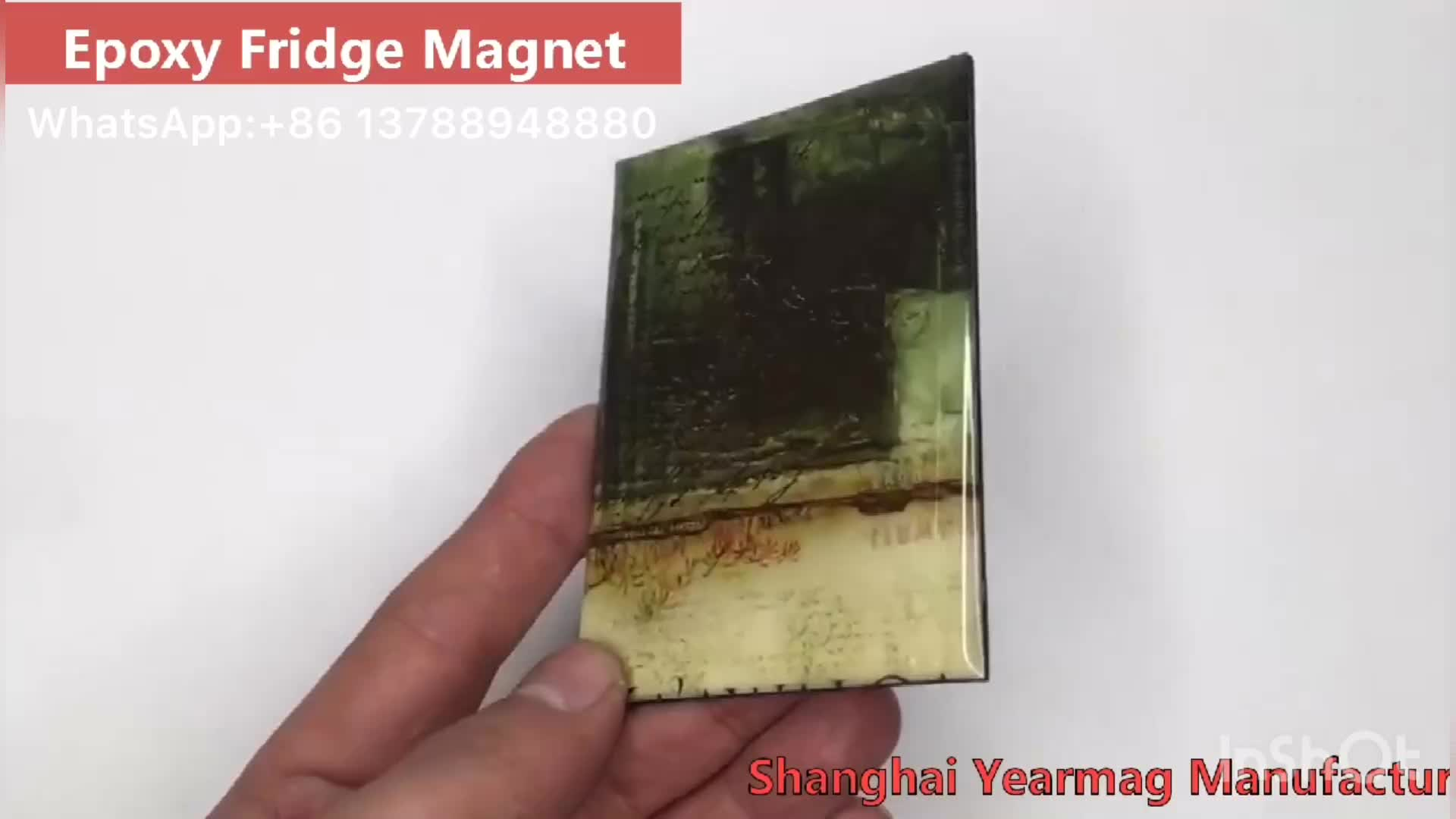 Professional Factory Customize Fridge Magnets Type Epoxy Embossed Rubber Magnet on Refrigerator for Business Gifts