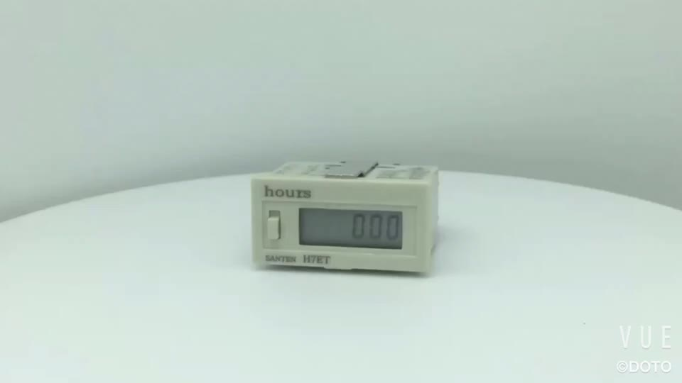 New style AC220V DC24V Display  Dhc3l hour meter lcd Timer calculagraph mechanical timer Industrial Hour Meter counter