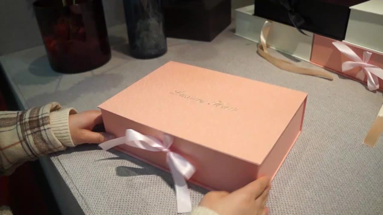 Custom Hair Extension Paper Packaging Boxes