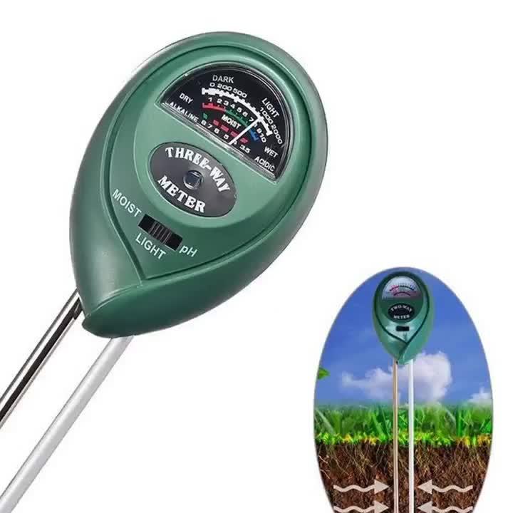 3 in 1 Soil Tester Moisture Meter