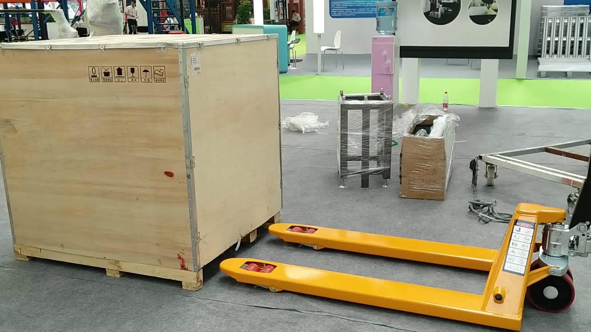 2.5 tonnes chine chariot élévateur entrepôt hydraulique manuel de chariot élévateur à main transpalettes