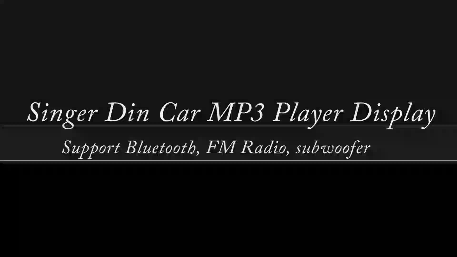 Podofo Mobil MP3 Player Stereo Autoradio Mobil Radio Bluetooth 12 V Di-dash 1 Din FM Aux Di Receiver SD USB MP3 MMC WMA JSD-520