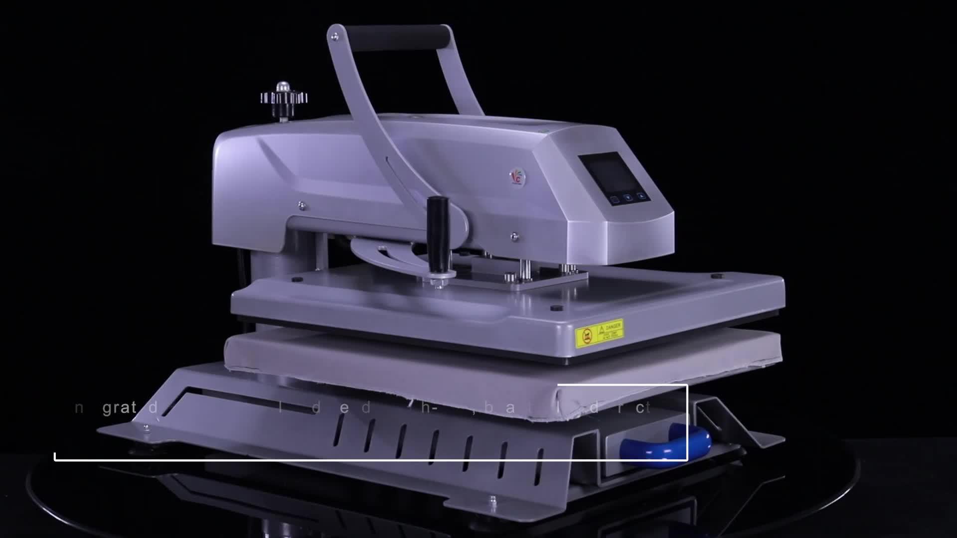 T-shirt Impressão 16x20 Máquina Da Imprensa do Calor de alta Pressão