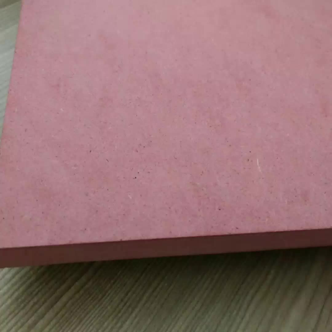 1220*3050mm 9/12/15/18mm Fire Rated MDF Board / Fire Proof MDF Board