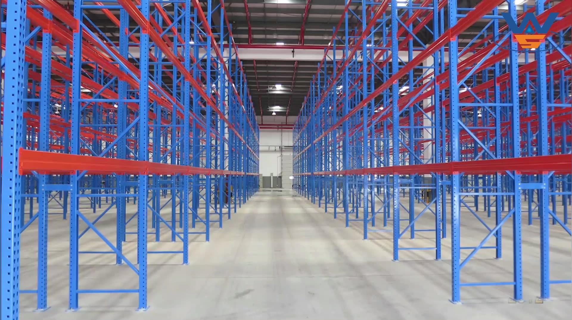 Popular high quality wholesale heavy duty metal warehouse steel pallet rack