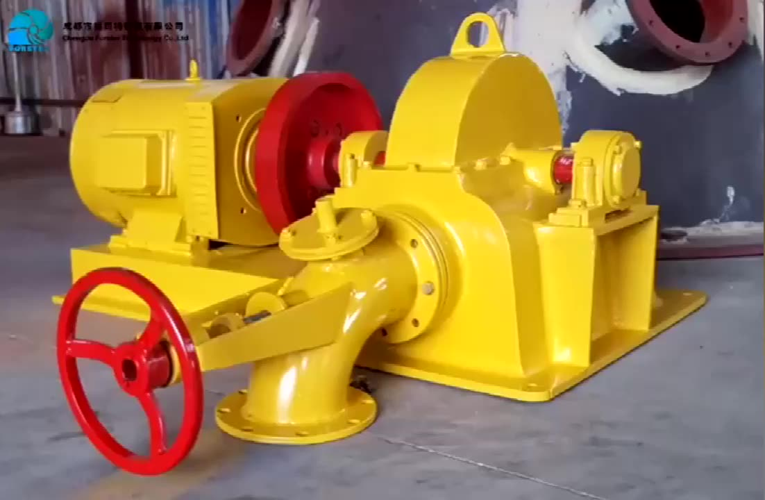 Factory Supply Of High Quality Convenient Maintenance Micro 10kw 20kw 30kw Pelton Turbine