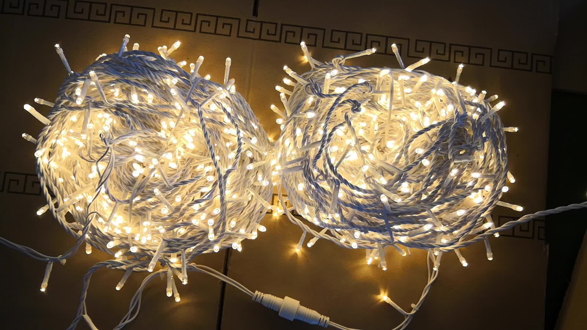 Customized Outdoor LED Icicle String Lights Garden Bar Decorative Lights