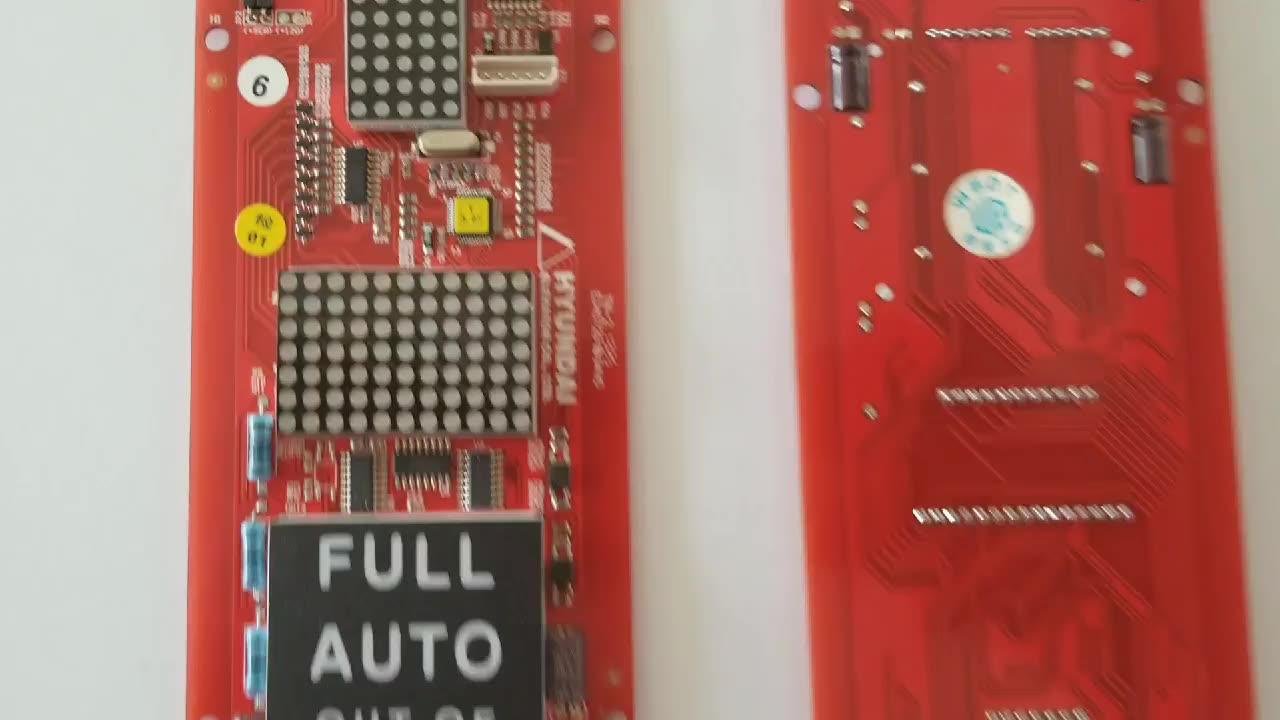 יונדאי מעלית תצוגת לוח HIPD-CAN V3.2 מכונת PCB לוח עבור מעלית בקרת לוח לוח