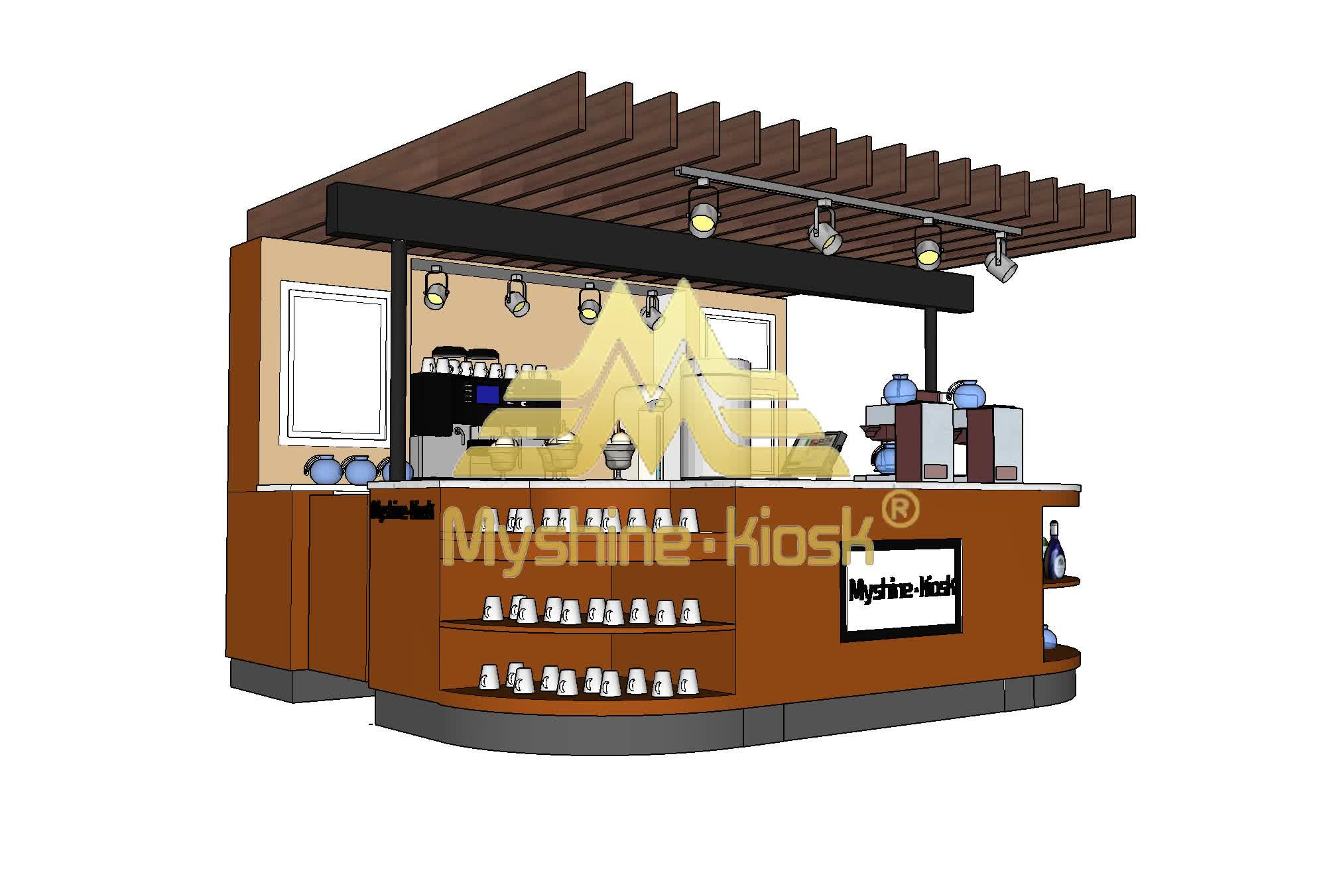 Tienda de té de leche contra jugo de fruta té de burbuja, diseño de la tienda, y la tienda de café