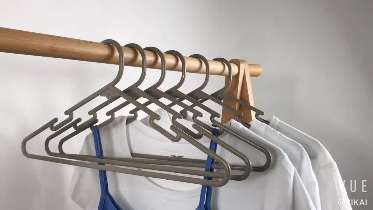 FREE SAMPLE Cheap Price Durable small plastic hanger for drying clothes