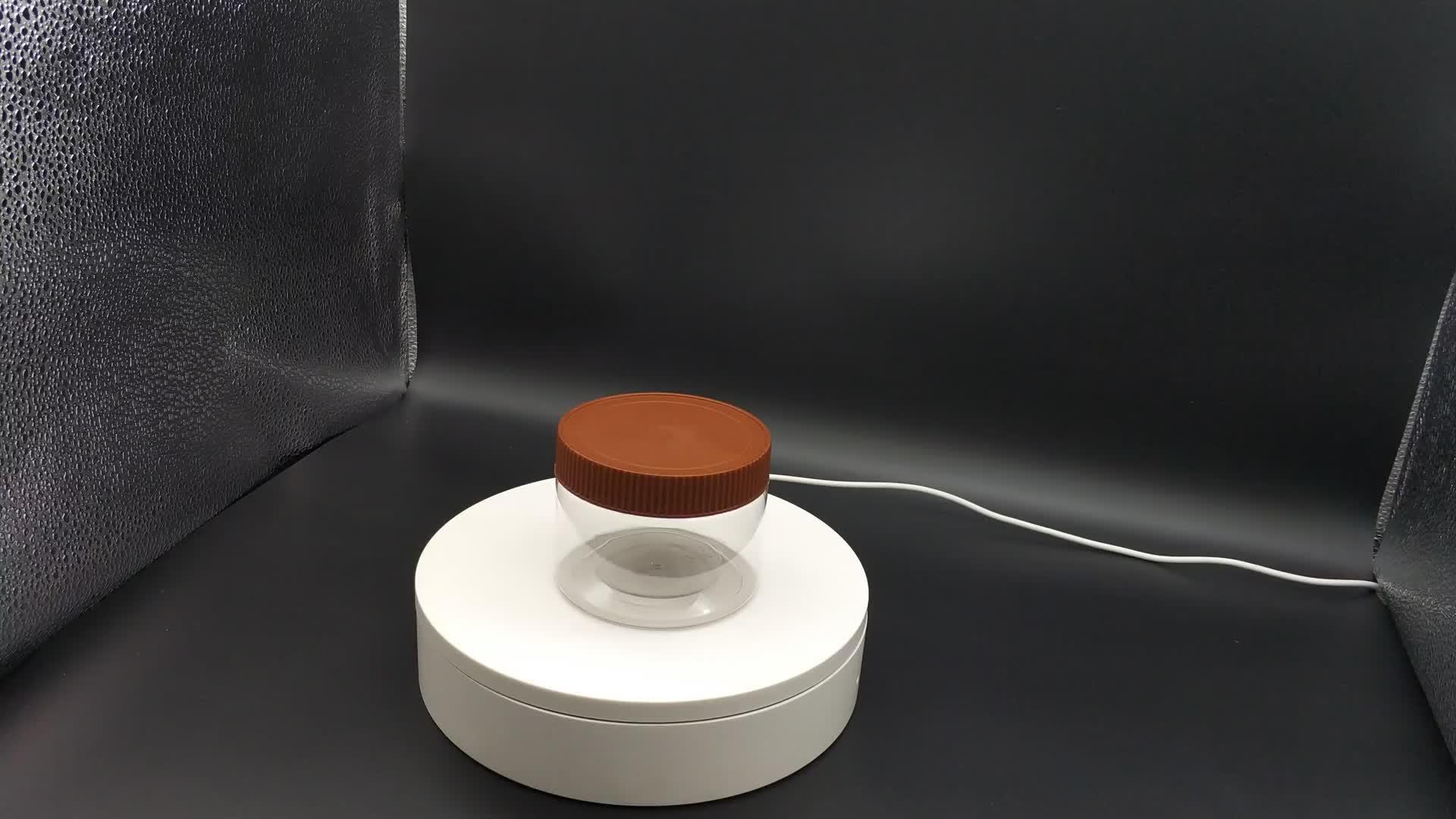 Wholesale 10oz Empty Plastic Sauce Bottle PET Custom Ketchup Jars with Flip Lids