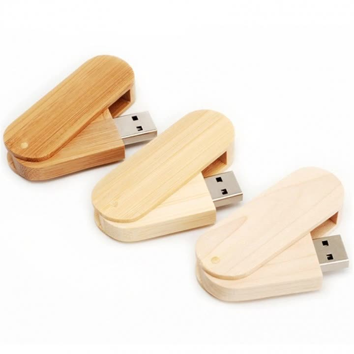 Ali stock promotional usb flash drive memory stick with wooden box