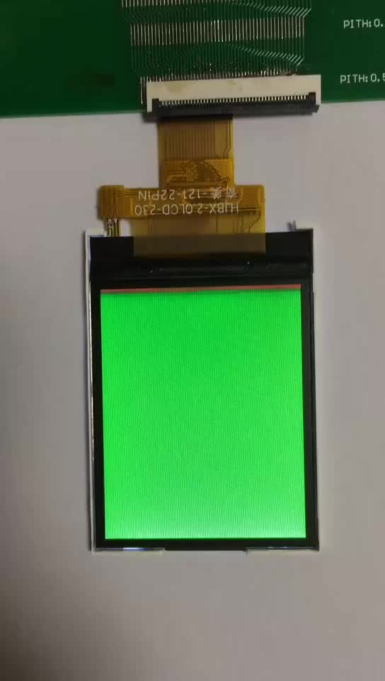 Genyu 22 pin lcd display small color lcd 2.0 inch tft lcd module