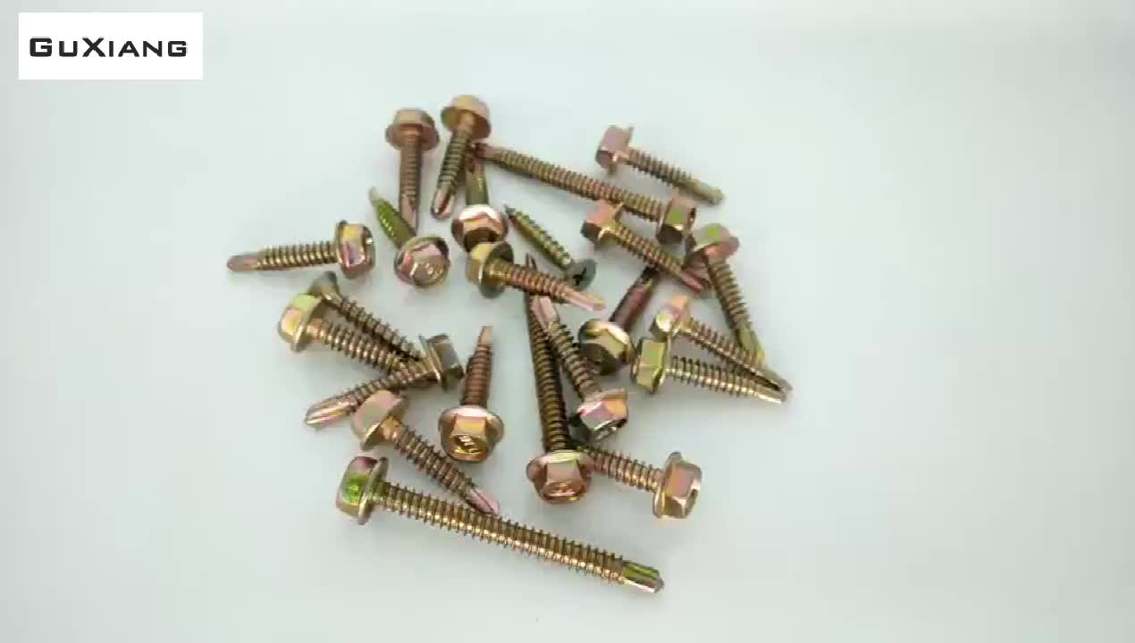 Wholesale price sales hexagon Stainless steel drill tail self drill screw