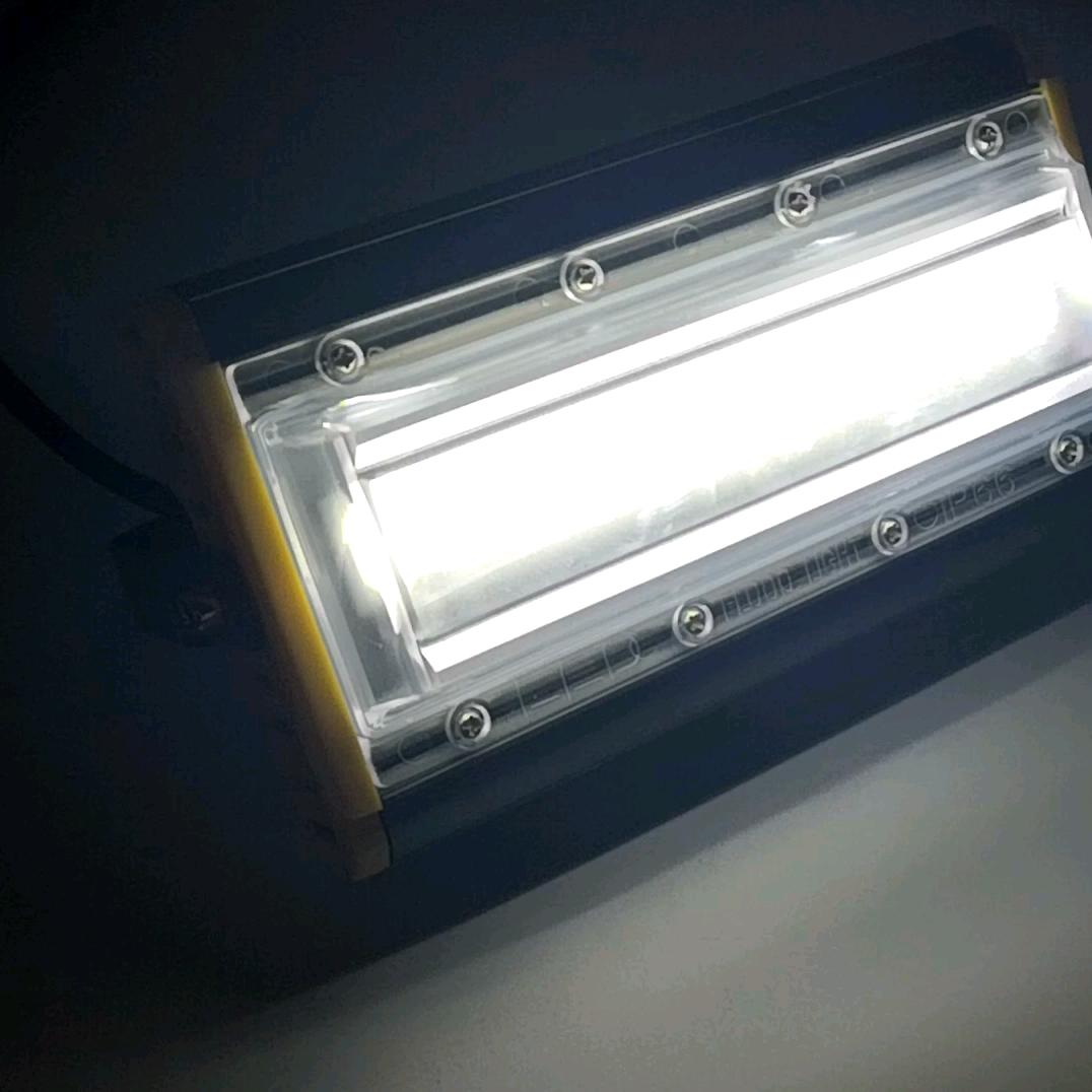 高品質 50 ワット COB LED フラッドライト防水 AC110V 220V LED 投光器プロジェクターリフレクターランプ屋外スポットライト