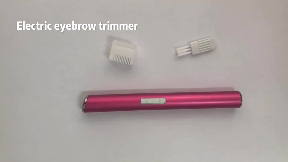 Battery operate electric as seen on tv lady eyebrow trimmer