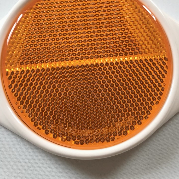 widely used for Road safety reflector with 2 screw holes