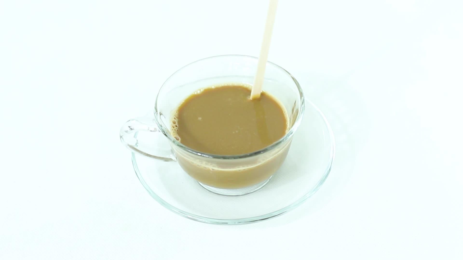 Beste-verkauf Glatte polieren Keine färbung birkenholz kaffee rühren stick