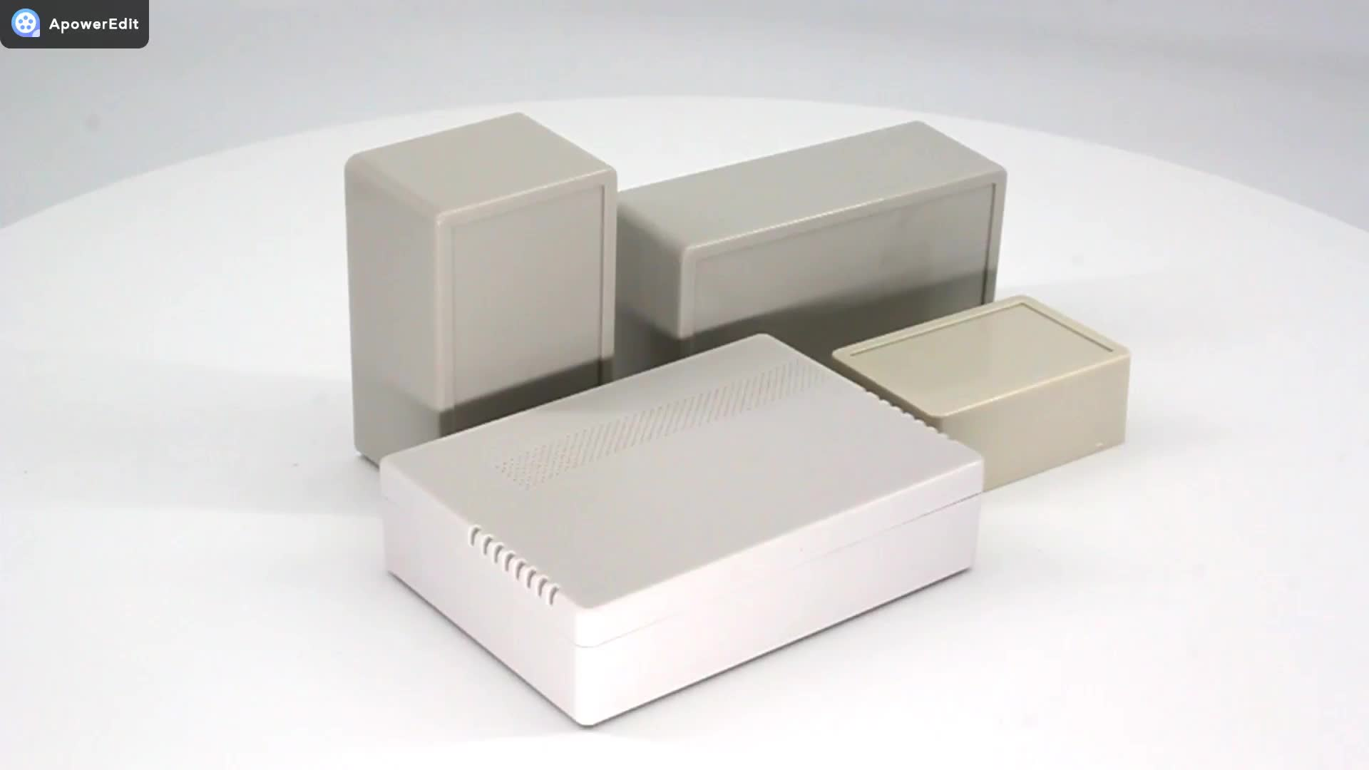 ABS custom plastic instrument box electrical for industrial device