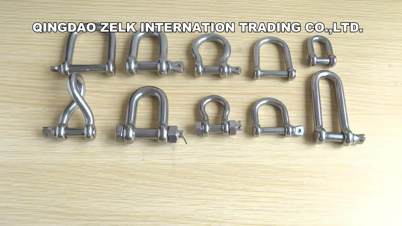 Marine Hardware Stainless Steel Bolt Anchor Shackle US Type