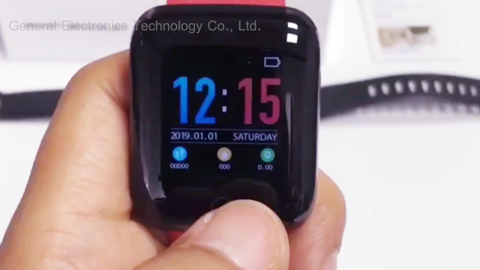 2019 nieuwe collectie goedkope 116plus smartwatch 24 uur Hartslagmeter Smart Horloge