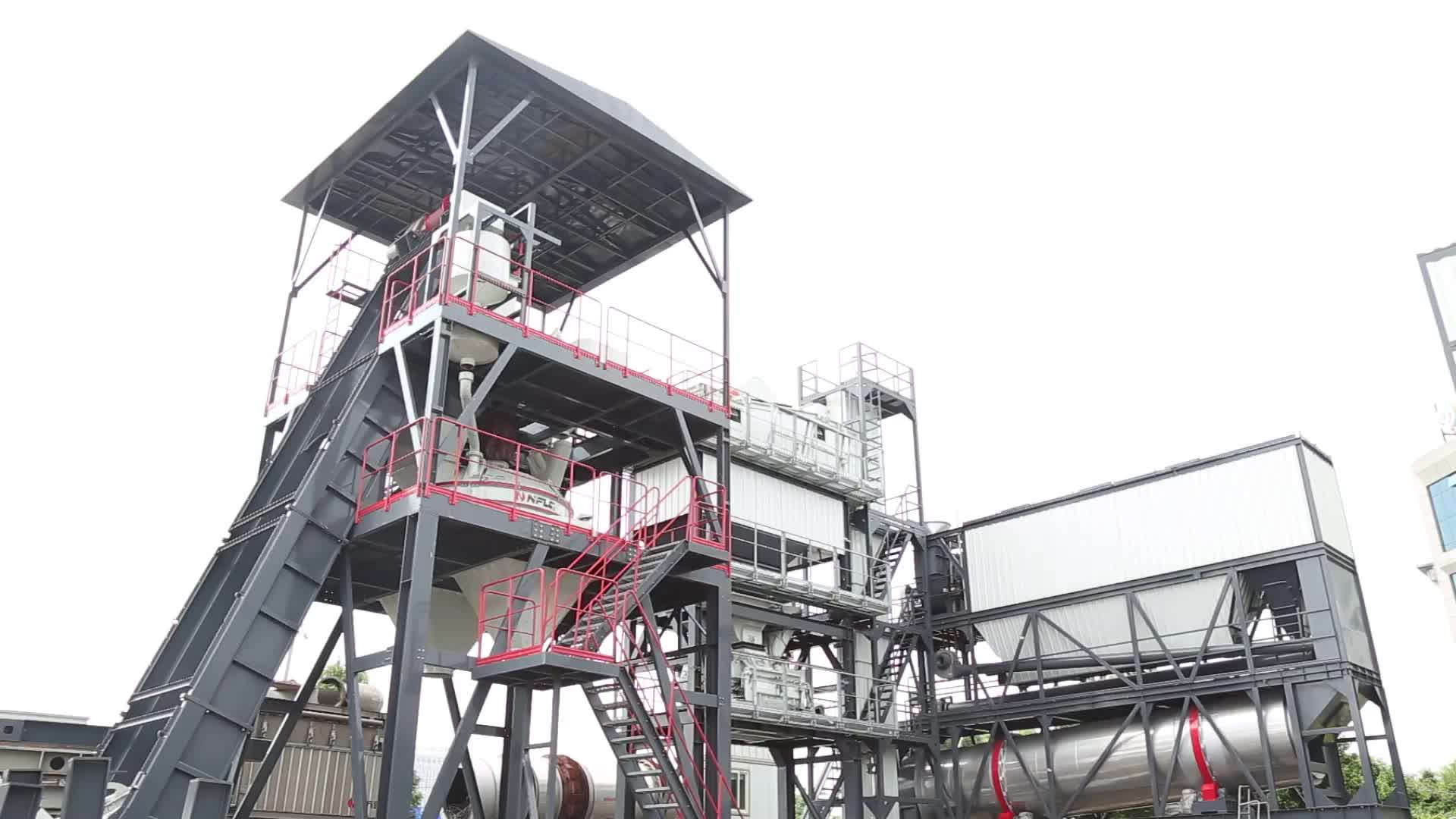 新設計された工場価格100 m3/h携帯準備ミックスコンクリートプラントでce認証