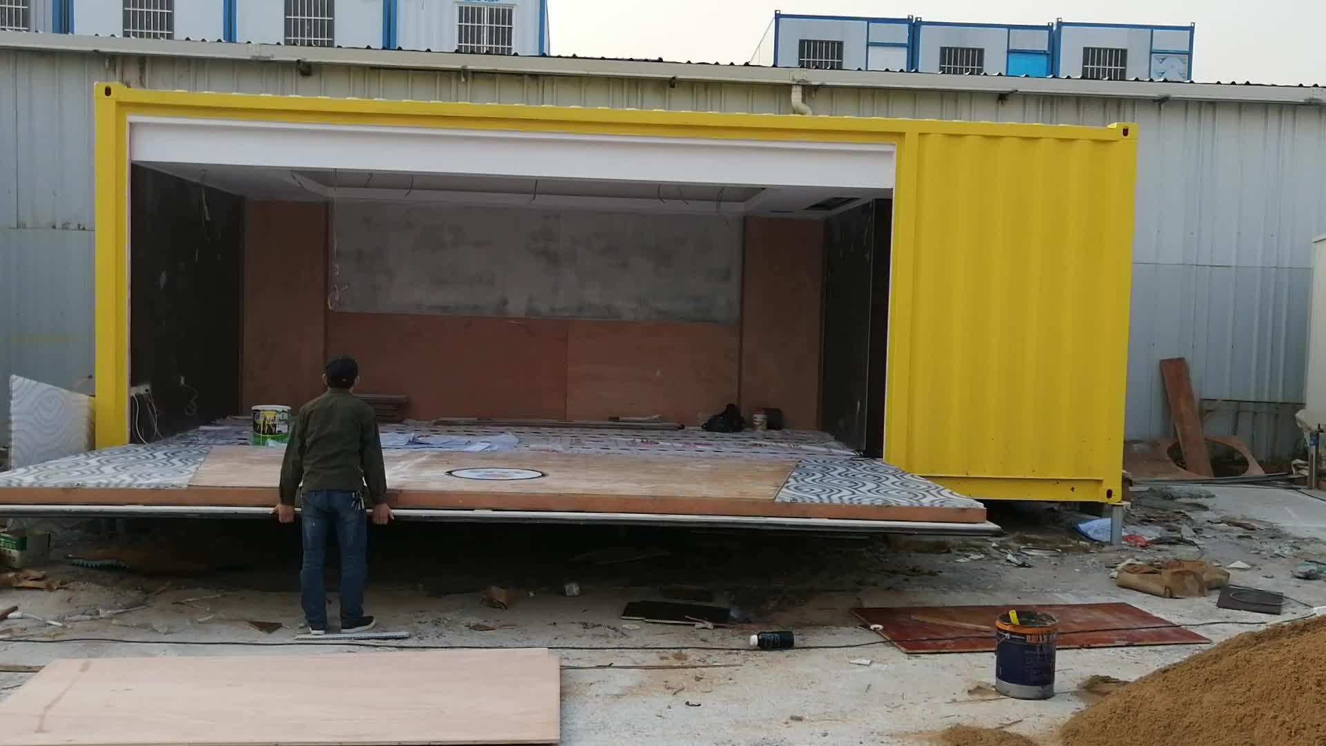 Container di trasporto modificato design moderno contenitore di casa negozio ufficio