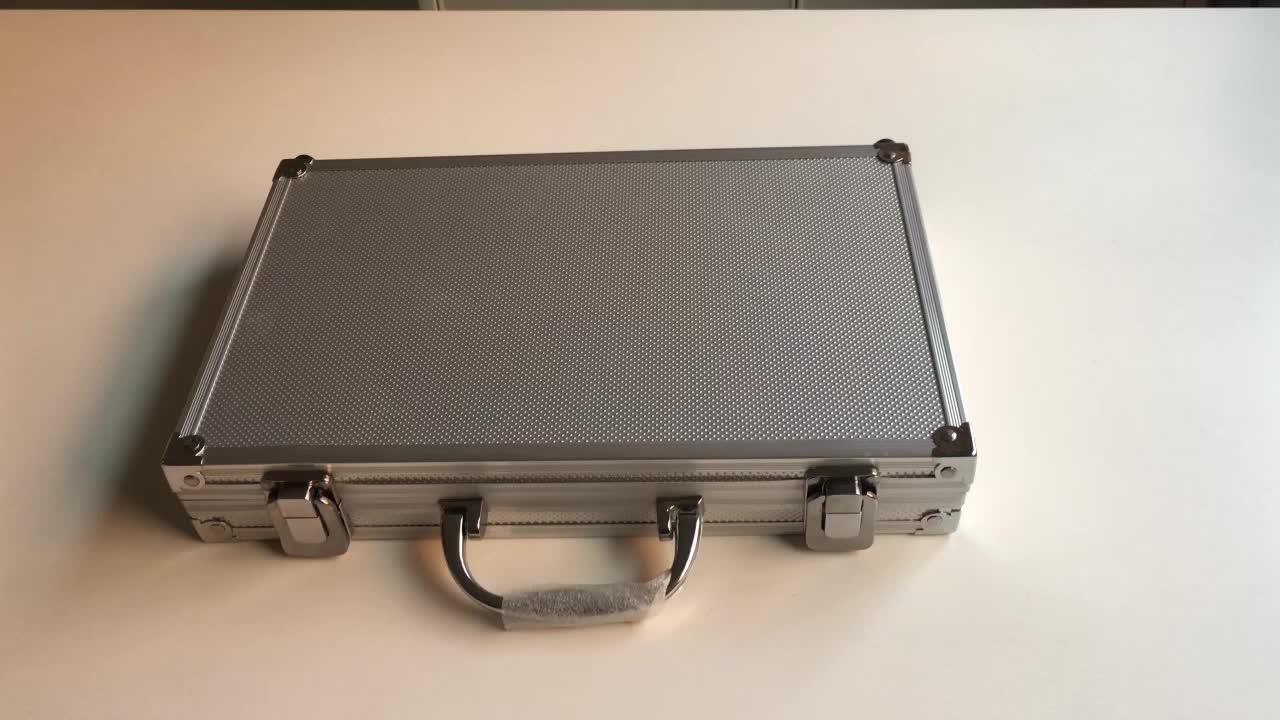 वेक्टर प्रकाशिकी के साथ सबसे अच्छा बंदूक सफाई किट एल्यूमीनियम शिकार बंदूक सफाई के लिए बॉक्स मामले